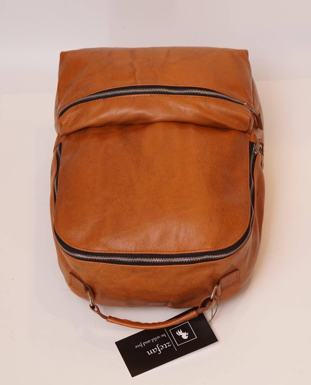 Skórzany plecak