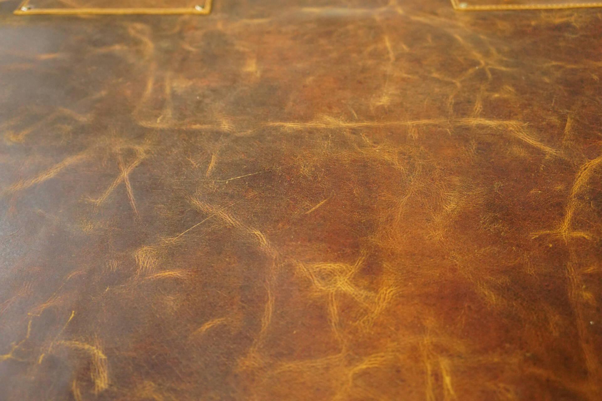 Fartuch skórzany