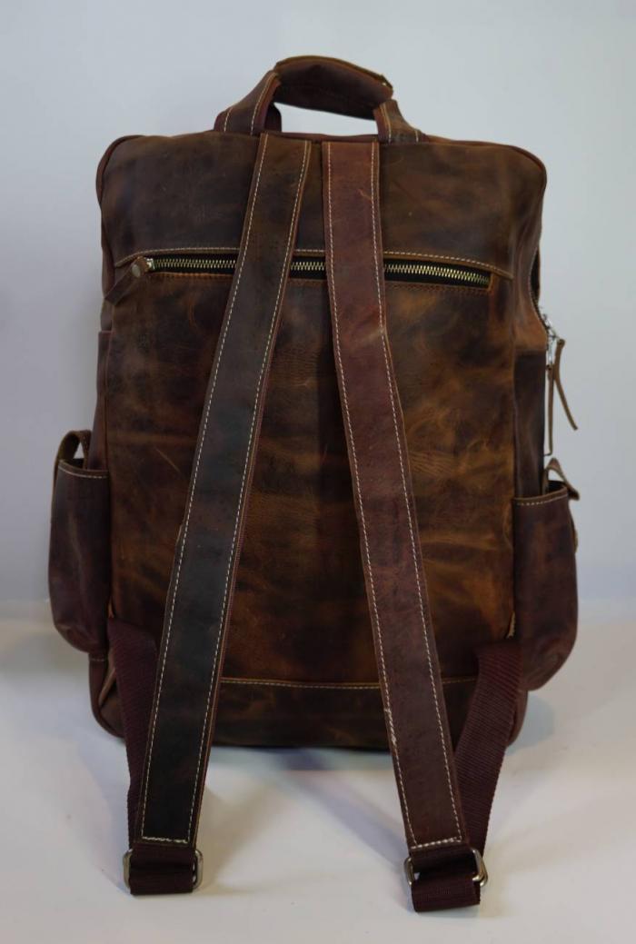 Plecak skórzany